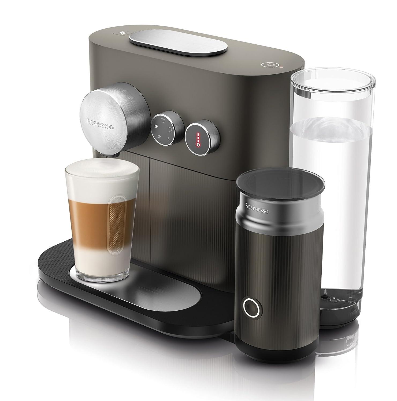 Nespresso DeLonghi Expert Milk EN355.GAE - Cafetera monodosis de cápsulas Nespresso con aeroccino, controlable con smartphone mediante bluetooth, ...