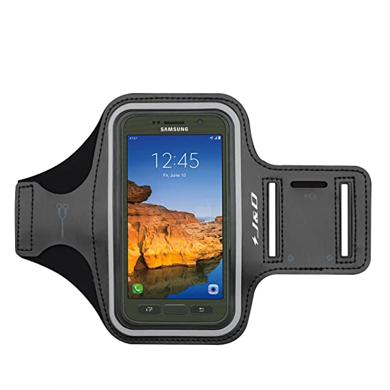 more photos cda07 6c69a Amazon.com: J&D Armband Compatible for Galaxy S7 Active Armband ...