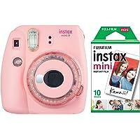 Instax mini 9 Toz Pembe Limited Edition Fotoğraf Makinesi 10'lu Film