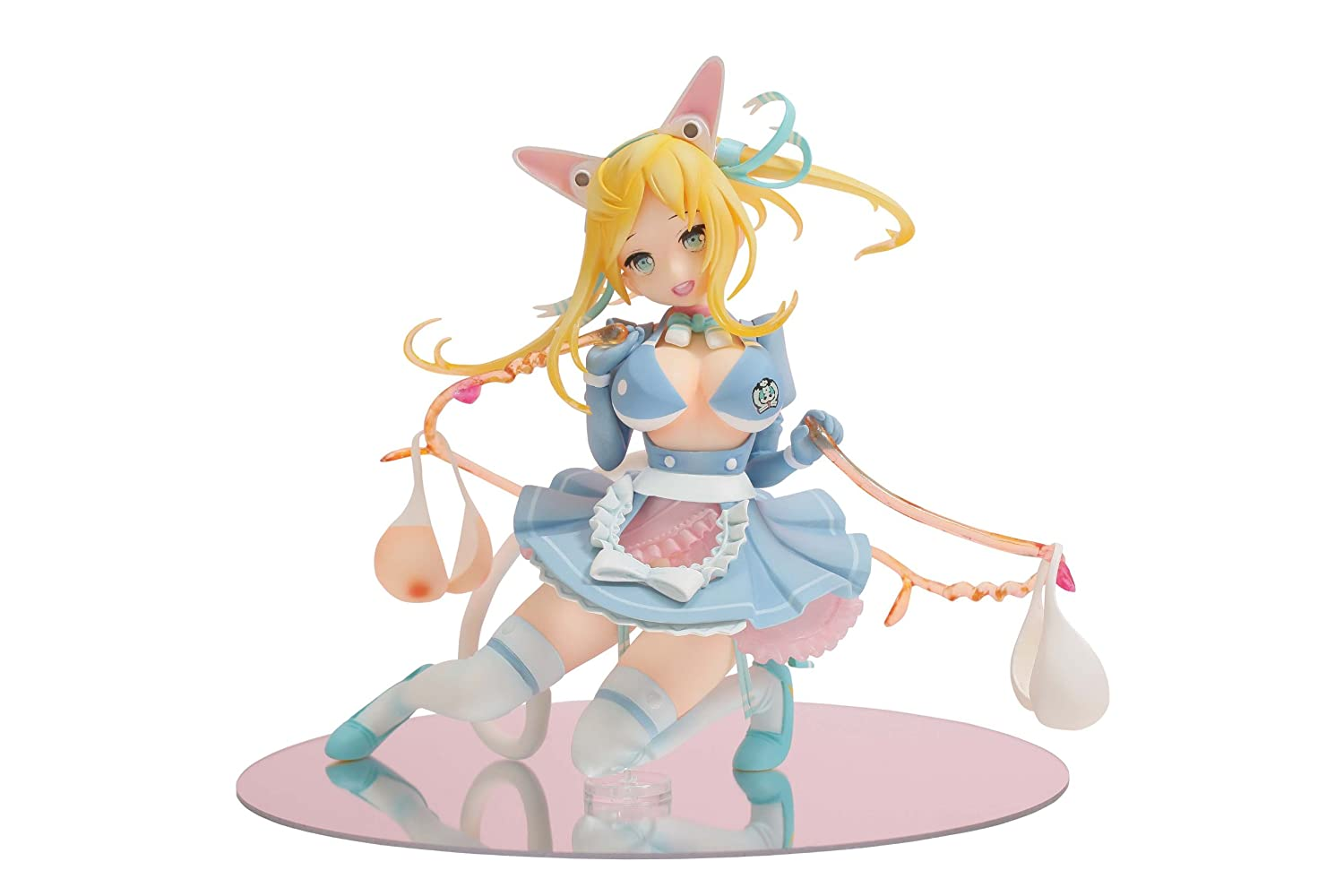 Aoshima Funny Knights Rope Skipping Maid Roppu PVC Figure (japan import)