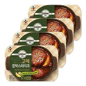 [ 4 Packs ] CJ Korean Gourmet Hambak Steak 200g