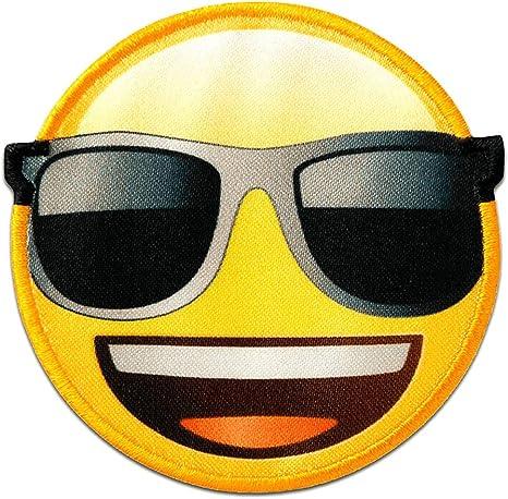 Emoji Aufbügler Aufnäher Abzeichen Bügelbild Aufnäherbild Patch