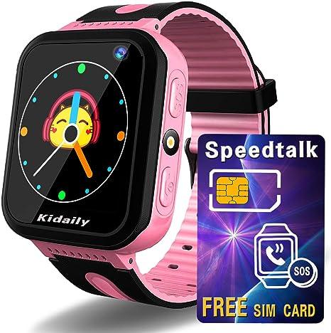 Amazon.com: Kids Smart Watch GPS Tracker [ SIM Card Included ...