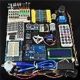 cocopar®Arduino 学習キット arduino専用9V-1A電源(PSE対応)付き UNO R3  SY-01 Arduinoスターターキット Arduinoをはじめよう 互換キット 初心者専用実験キット 基本部品セット