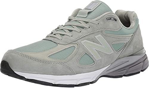 New Balance Men/'s 990V4 Made In Us Shoes Green