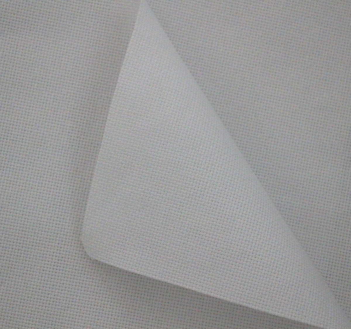 Aida Cloth 14 Count Cross Stitch Fabric, 12 by 12-Inch For DIY - 5 Pieces (White) 12 by 12-Inch For DIY - 5 Pieces (White) RERIVER