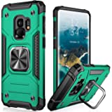 IKAZZ Samsung S9 Case,Galaxy S9 Cover Dual Layer Soft Flexible TPU and Hard PC Anti-Slip Full-Body Rugged Protective Phone Ca