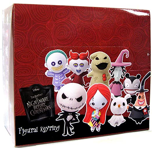 Amazon.com: Nightmare Before Christmas 3D Figural Keychain ...