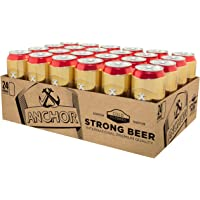 Anchor Strong Pilsner Beer Can, 490ml (Pack of 24)