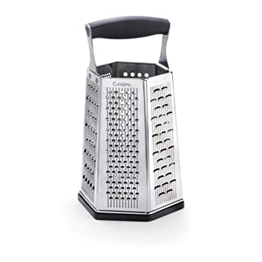 Cuisipro 6-Sided Box Grater with Bonus Ginger Grater