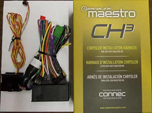 7104zEgJshL._SX522_ amazon com idatalink maestro ads hrn rr ch3 ch3 plug & play t idatalink interface/wiring harness at bakdesigns.co