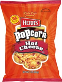 Herrs Popcorn Hot Cheese 1 Oz Pack Of