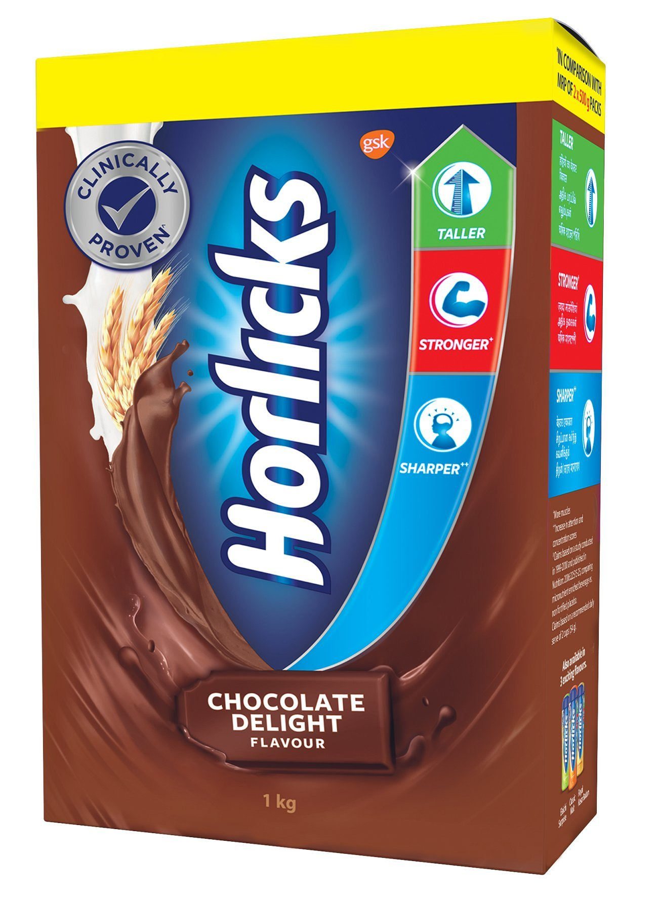 Horlicks Health And Nutrition Drink 1 Kg Refill Pack Chocolate Flavor Buy Online In Aruba Horlicks Products In Aruba See Prices Reviews And Free Delivery Over 120 ƒ Desertcart
