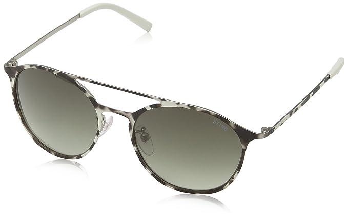 Sting Ss4902 gafas de sol, Gris (BEIGE/BROWN CAMOUFL.RUBB ...