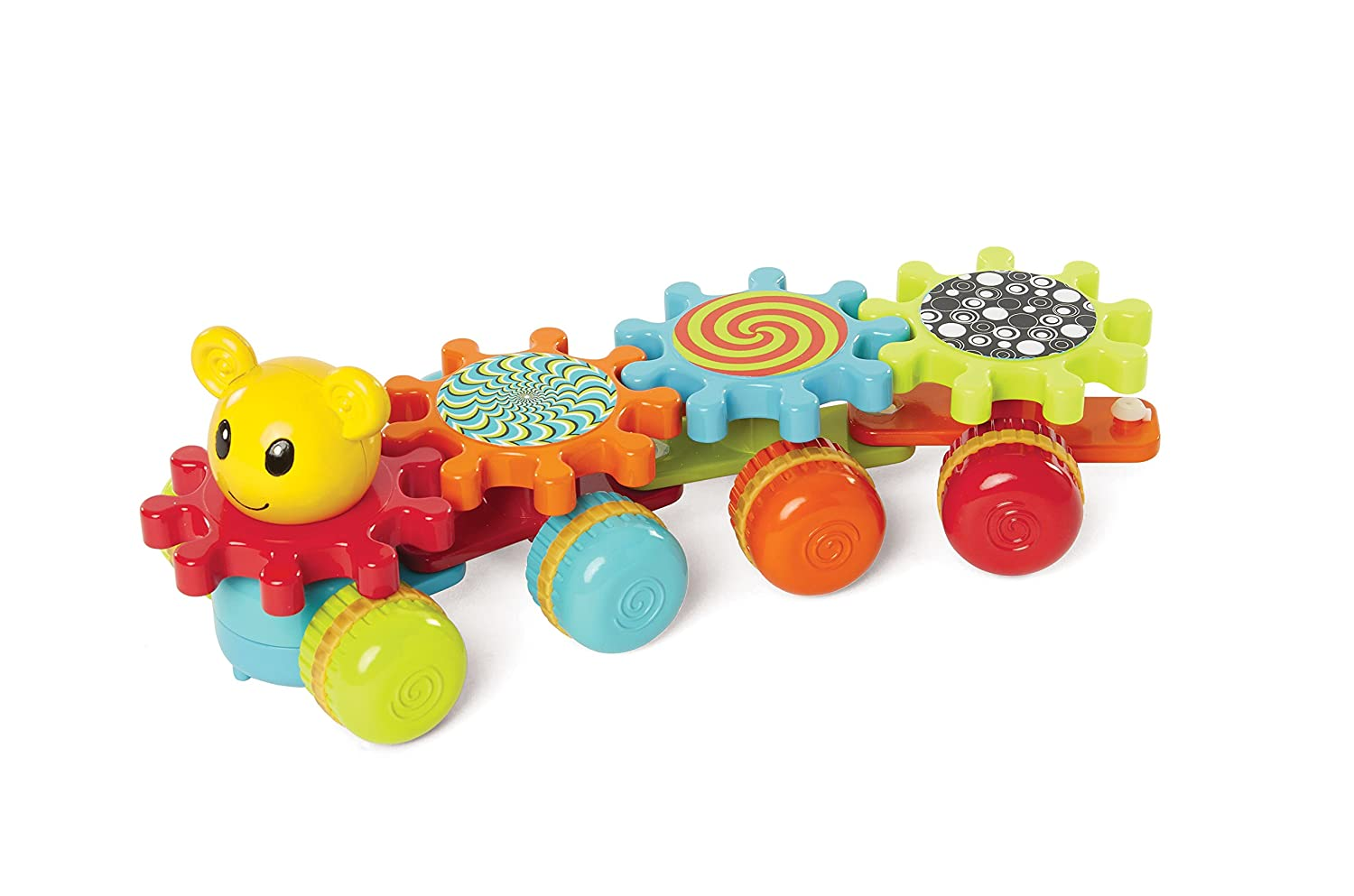 Earlyears Gearapiller Rolling Toy with Spinning Gears