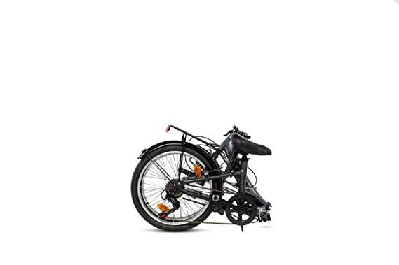 Moma Bikes First Class 2 GR Bicicleta Plegable Urbana, 6V. Sillin Confort, Unisex Adulto, Gris, Talla Única: Amazon.es: Deportes y aire libre