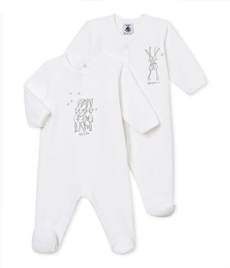 Petit Bateau Lot Trema, Pelele para Dormir Unisex bebé (Pack de 2): Amazon.es: Ropa y accesorios
