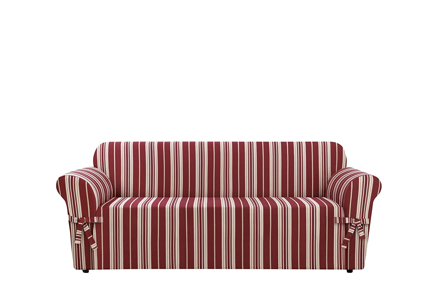 Sure Fit SF37922 Stripe Sofa Slipcover, Multicolored Sure Fit Inc.