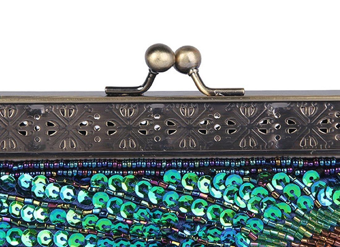 352ea559abed Details about Womens Evening Handbag Fashion Designer Elegant Purse Vintage  Clutch Sequin