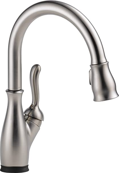 Delta Faucet Leland Single Handle Touch Kitchen Sink Faucet With Pull Down Sprayer Touch2o And Shieldspray Technology Magnetic Docking Spray Head