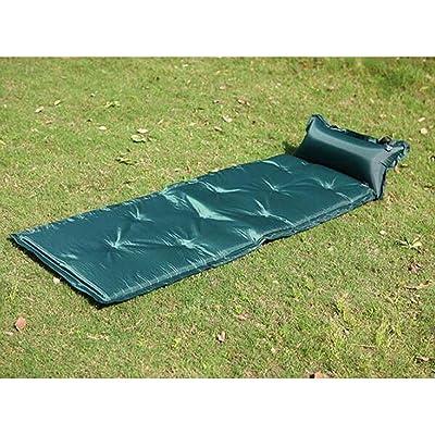 À L'extérieur Peut être Cousu Singolo Inflatable Rapide Pendant Imperméable à L'eau étanche Au Sable Matelas Pneumatique Gonflable,02