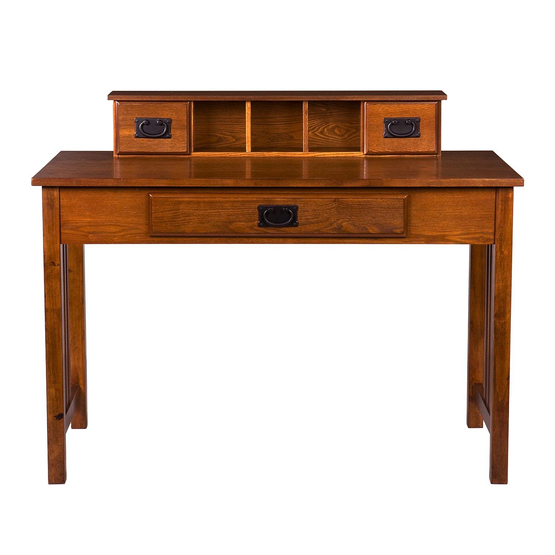 Amazon.com: Southern Enterprises Francisco Writing Desk 45\