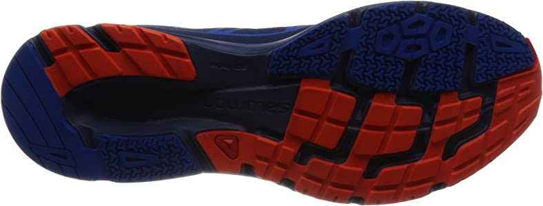 Salomon Sonic Aero, Zapatillas de Trail Running para Hombre, Azul (Surf The Web/Blue Depths/Flame), 45 1/3 EU: Amazon.es: Zapatos y complementos