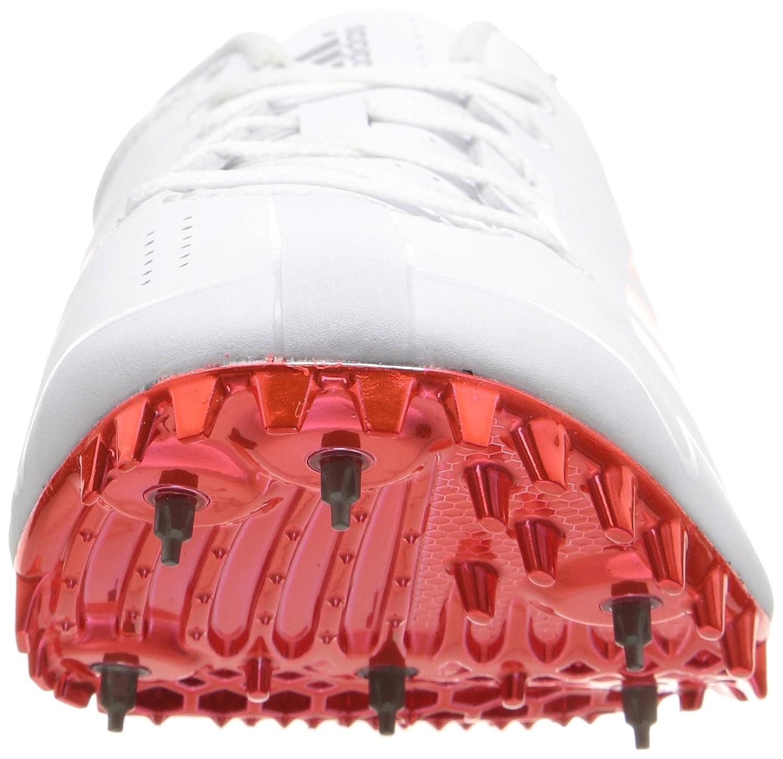 huge discount 0b767 27bcb Amazon.com  adidas Adizero Prime SP Track Shoe,  WhiteInfraredMetallicSilver, 12.5 M US  Track  Field  Cross Country