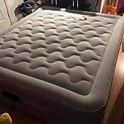 Amazon.com: JEAREY - Colchón de aire, tamaño queen, confort ...