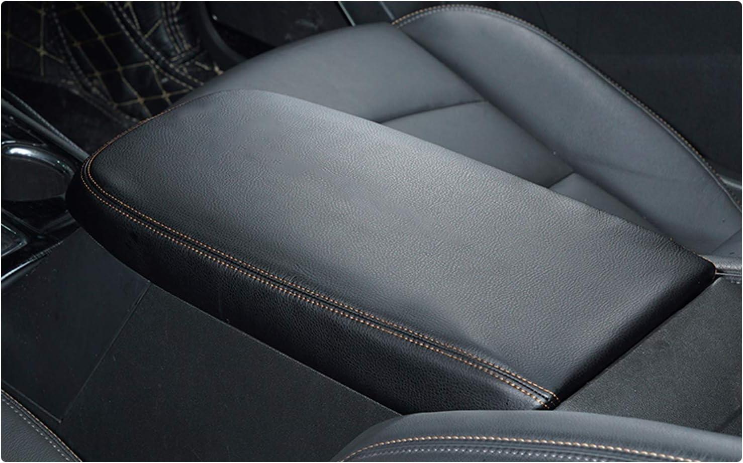 CDEFG f/ür RAV4 2019 Armlehnen Deckel Abdeckung Kratzschutz Mittelkonsole Kunstleder Armlehne Box Cover Auto Interieur Zubeh/ör Carbon fiber