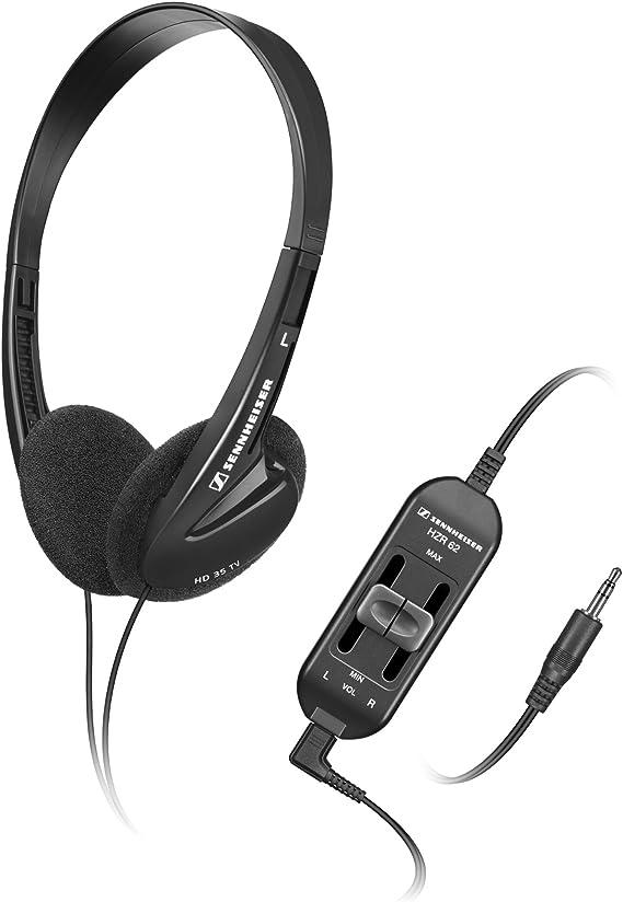 Sennheiser HD 35 TV - Auriculares de diadema abiertos, negro: Sennheiser: Amazon.es: Electrónica