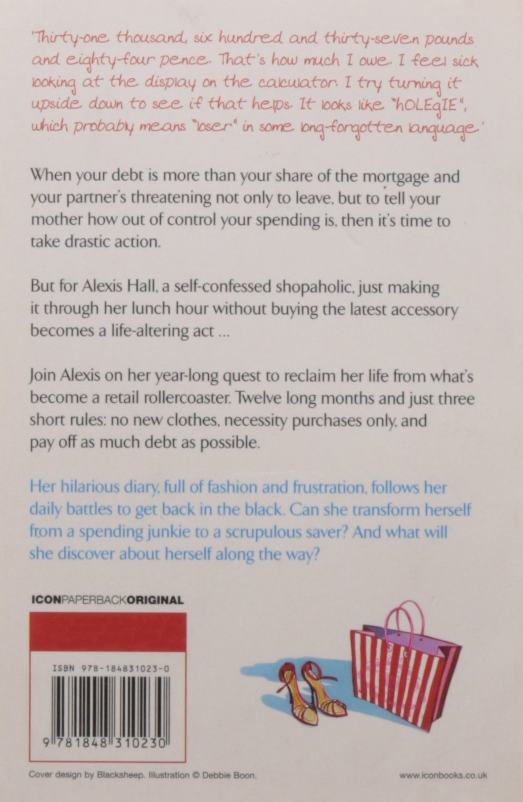 83cdfe82a0bd In the Red  The Diary of a Recovering Shopaholic  Amazon.co.uk  Alexis  Hall  9781848310230  Books