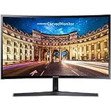 Samsung LC27F396FHNXZA 27-Inch 1800R Curved Monitor 4ms Freesync Super Slim Design