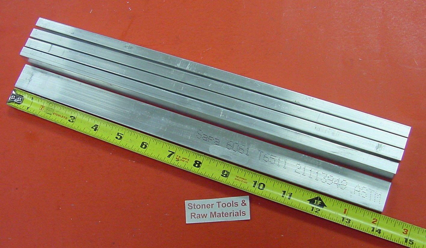 "2/"" X 8/"" ALUMINUM 6061 FLAT BAR 15/"" long Solid T6511 2.00/"" Plate Mill Stock"