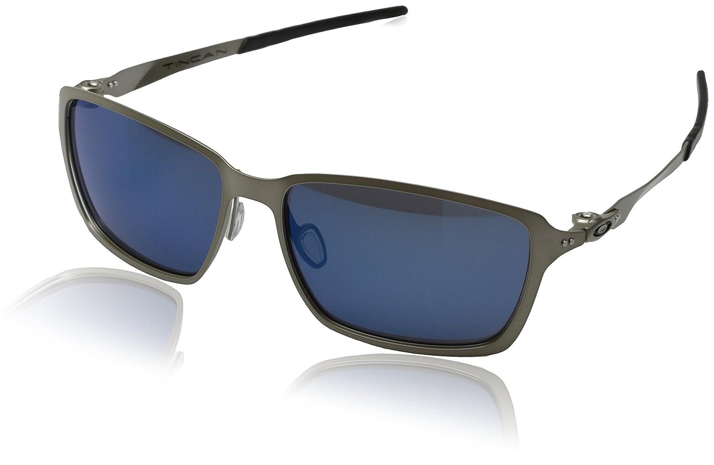 Oakley - Gafas de sol Rectangulares Tincan, Light/Ice ...