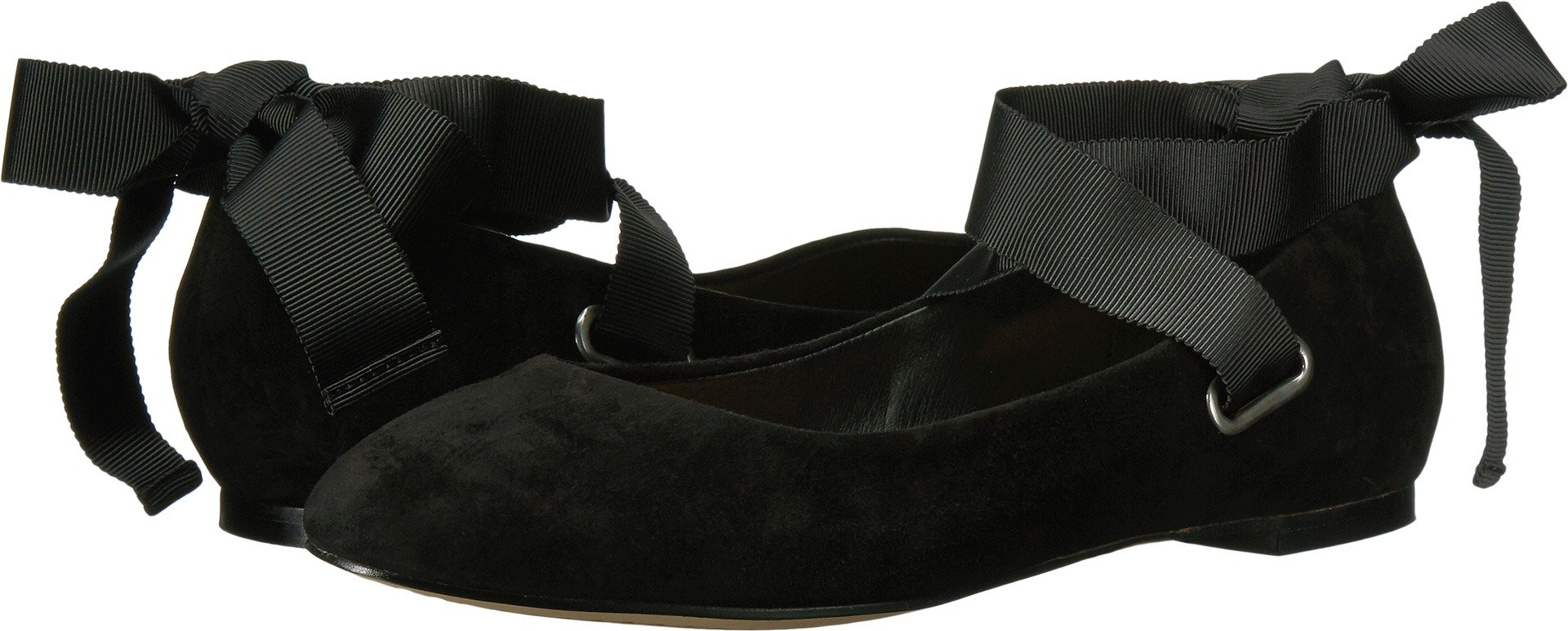 Splendid Women's Renee Ballet Flat, Black, 8.5 M US
