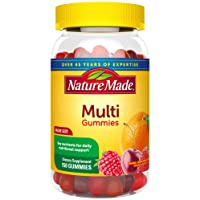 Nature Made Multivitamin Gummies, 150 Count Value Size (Packaging May Vary)