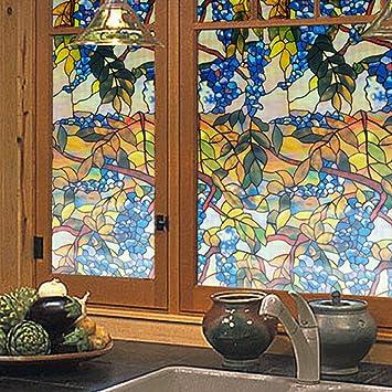 Bibo 45 X 3d Farbe Vines Sonnenschutz Glas Aufkleber Fenster
