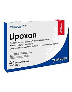 Yamamoto Research Lipoxan - 40 Cápsulas: Amazon.es: Salud y cuidado personal