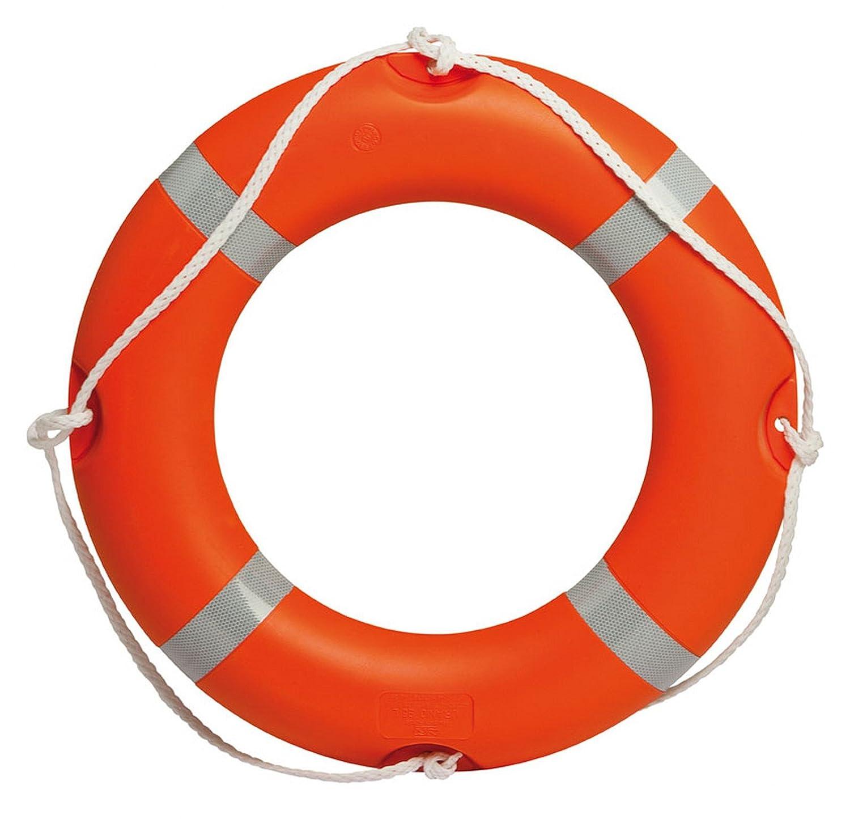 Rettungsring f/ür Seefahrt mit Zulassung Meer Schwimmbad