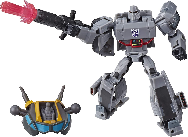 "Transformers cyberverse Deluxe Optimus Prime 5/"" Fig Matrix Mega Shot maccadam"