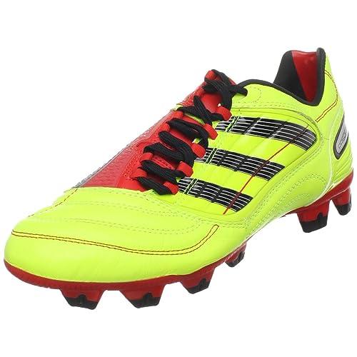 d8fe378c8de7 adidas Men's PREDATOR Absolion X TRX FG Soccer Shoe,Electricity/Black/Poppy,