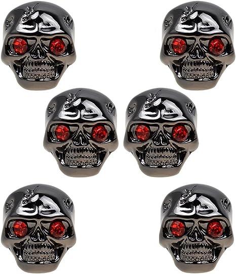 Skull Head Guitar Volume Tone Control Knob For Electric Guitar