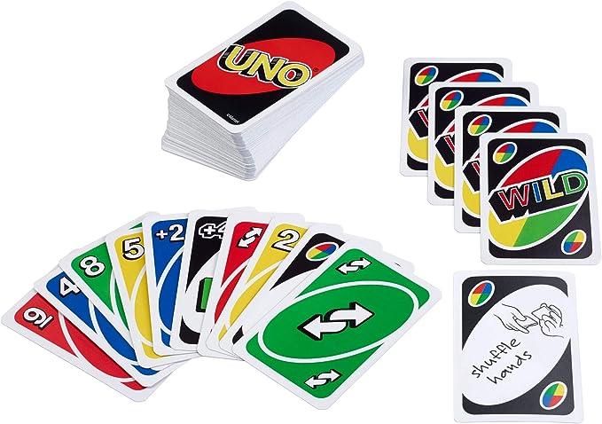 UNO, juego de cartas (42003) - [versión inglesa]: Amazon.es: Juguetes y juegos