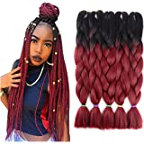 "Silike Jumbo Braid Afro Jumbo Braiding Hair Extension 5Pcs/Lot 100g/pc 24"""