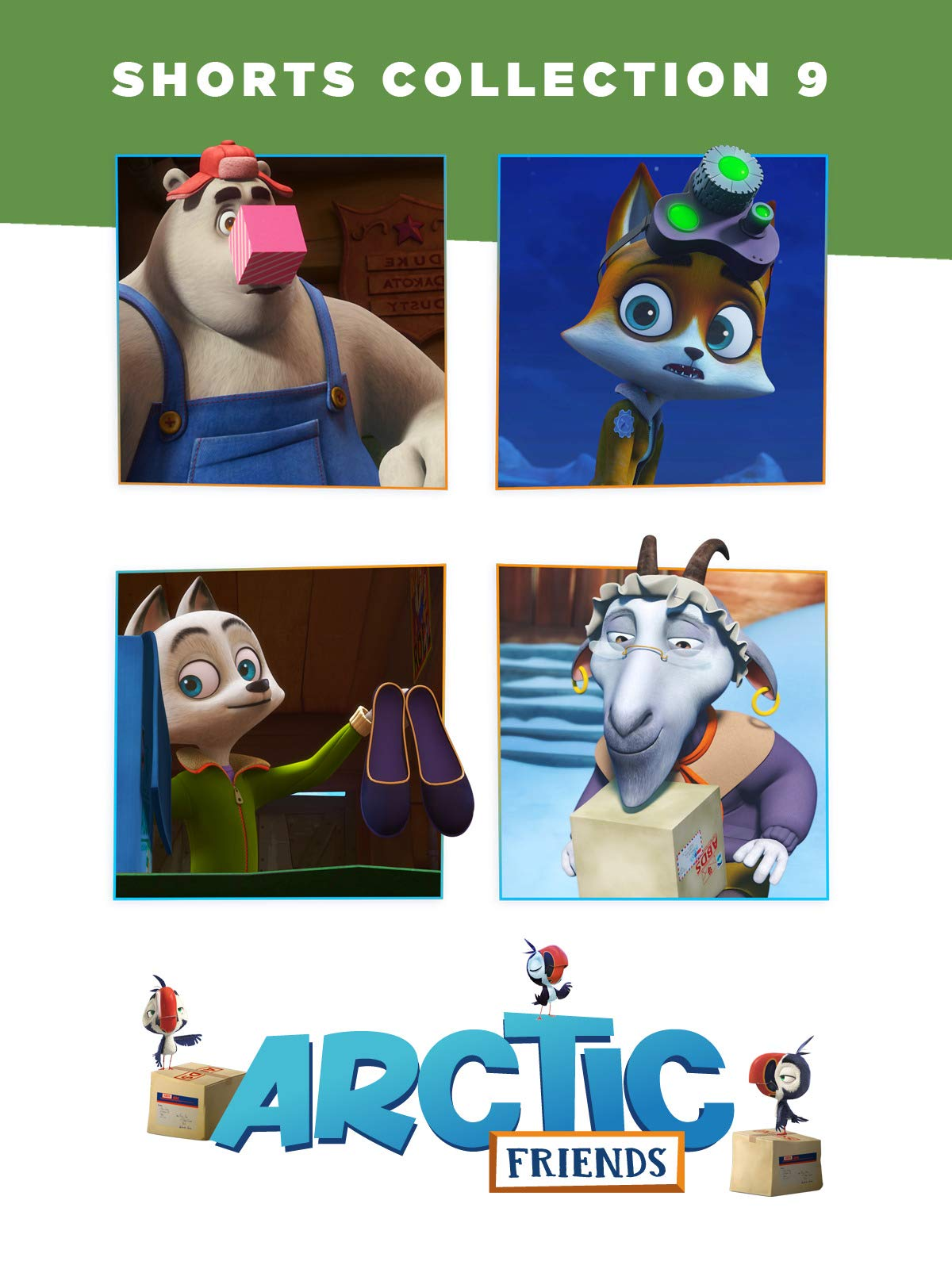 Arctic Friends: Shorts Collection 9