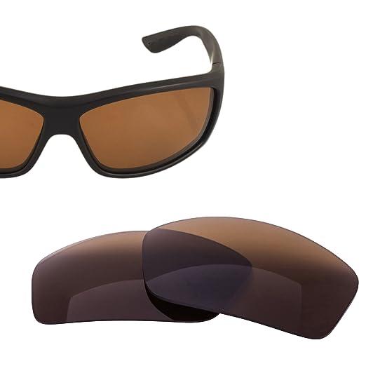 0ecfe31c44b LenzFlip Replacement Lenses Compatible with Costa del Mar Saltbreak - Bronze