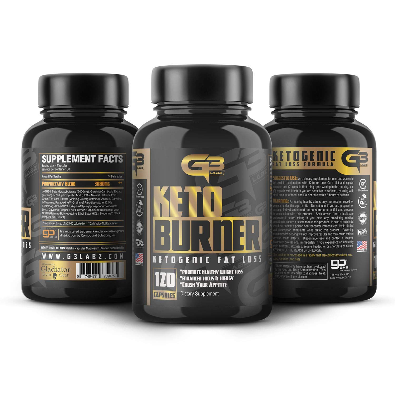 Keto Burner Pills, Exogenous Ketones W/ 2g Go Bhb Keto Supplement & Garcinia Cambogia Blend for Men & Women. Ketone Supplement for Focus, Energy, Ketosis by GLADIATOR GYM GEAR (Image #9)