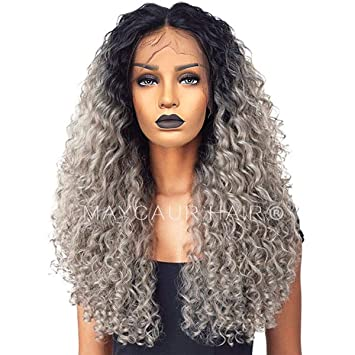 Amazon.com  Vanessa Queen Maycaur Hair Long Black Roots