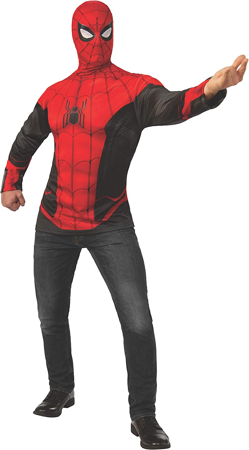 Rubie's Men's Marvel: Spider-Man Far from Home Deluxe Costume Top